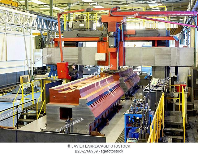 Automated installation for machining parts, Machining Centre, CNC, Milling machine, Machine tools, Gipuzkoa, Basque Country, Spain, Europe
