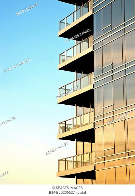 Balconies on Skyscraper