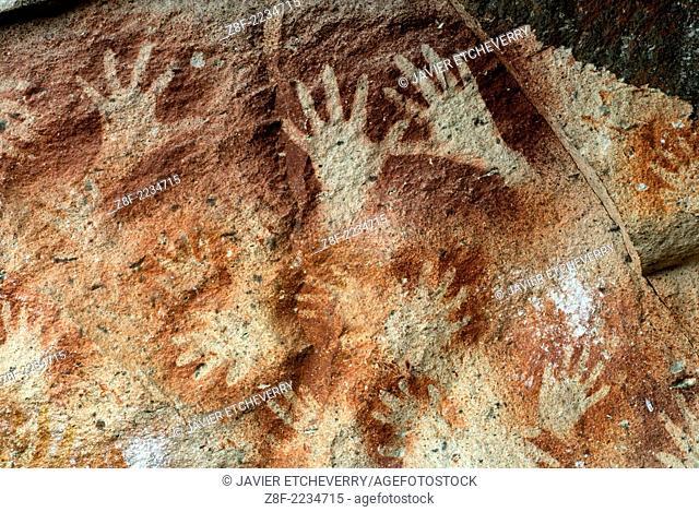 Cueva de las Manos del Rio Pinturas, Cave of the Hands, Patagonia, Province of Santa Cruz, Argentina