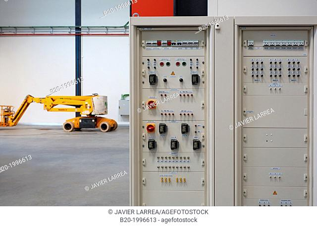 Power Electric Laboratory. Certification of electrical equipment. Ingrid. New experimental infrastructure for Smart Grids