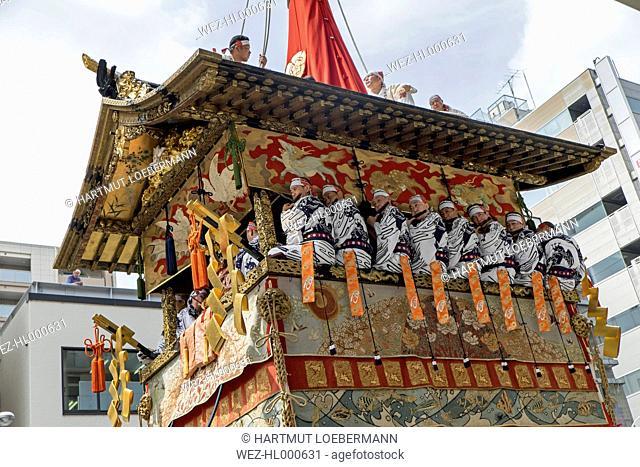 Japan, Kyoto, Gion Matsuri Festival, Hoko parade float