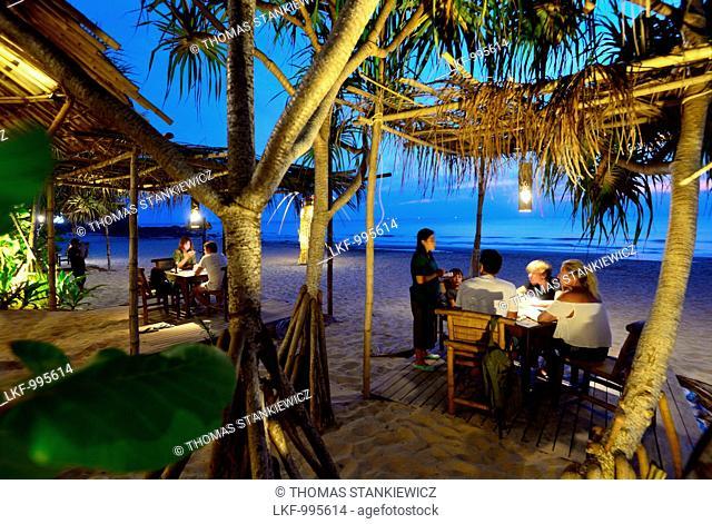 Restaurant: Same Same but Different on Kantiang beach, Ko Lanta, Andaman Sea, Thailand, Asia