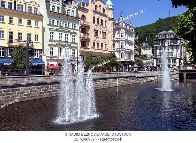 Karlovy Vary, Spa town, Czech Republic