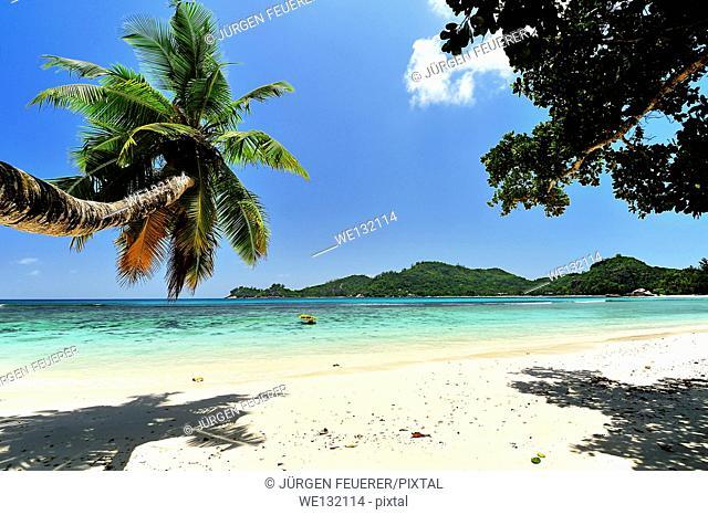 Baie Lazare, Beach on Island Mahé, Seychelles