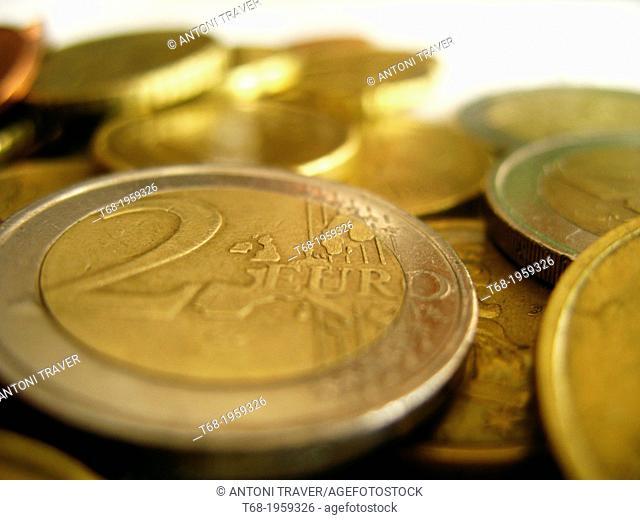 Coins, euros