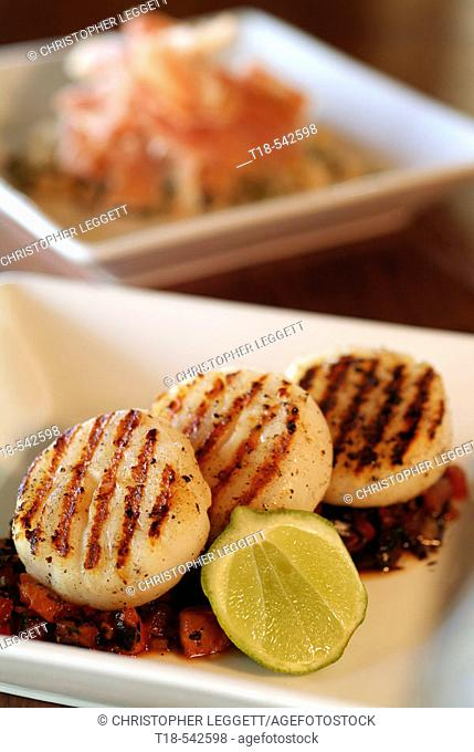 grilled scallop tapas