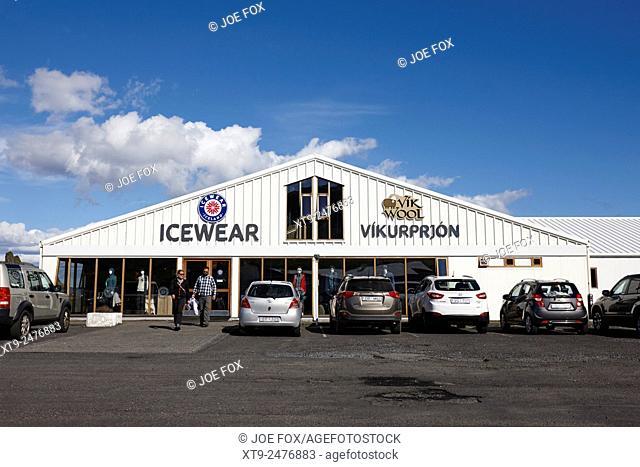vik wool and icewear store Vik i Myrdal Iceland