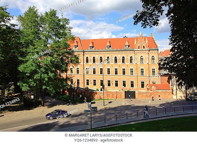 Street Scene, Cracow, Poland
