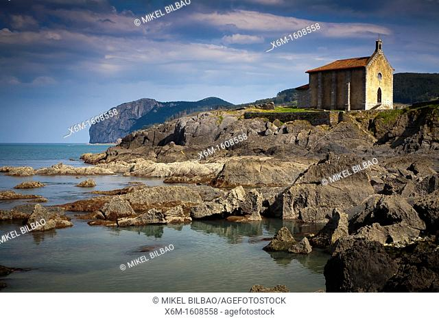 Santa Catalina church  Mundaka  Biscay, Basque Country, Spain