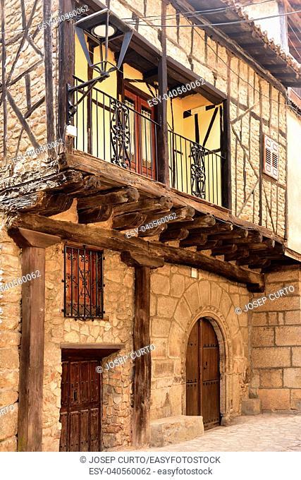 house San Martin del Castanar; Sierra de Francia Nature Reserve; Salamanca province; Castilla Leon; Spain