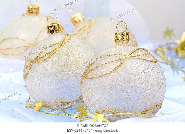 Christmas ball baubles