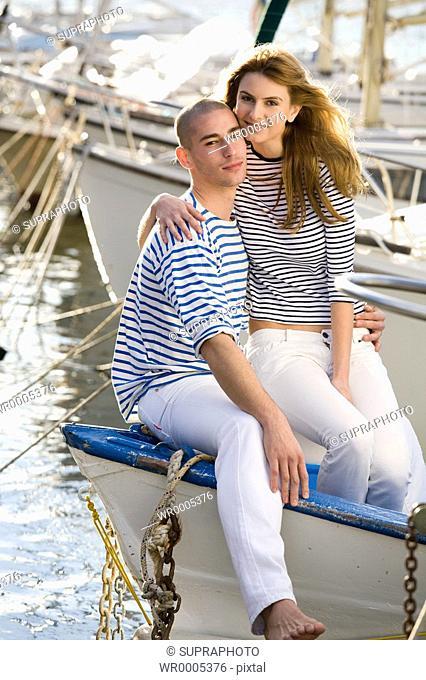 Couple boat
