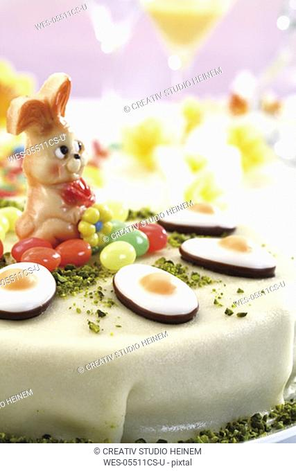 Easter torte, close-up