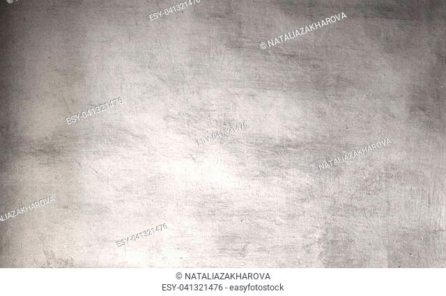 Silver grunge background - Vintage Rough grey textured wall for your design