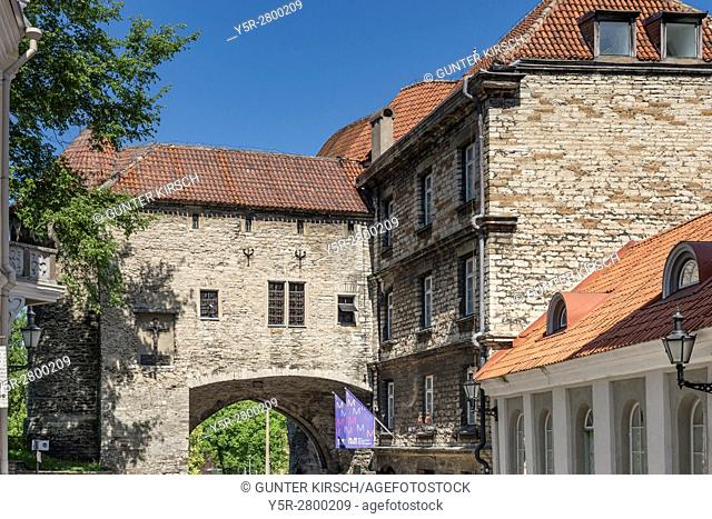 The Estonian Maritime Museum (Eesti Meremuuseum) is located on the Pikk Street in the old town of Tallinn. At the end of the Pikk Street