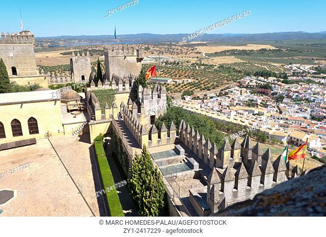 Castle de Almodovar del Rio (Cordoba, Spain)