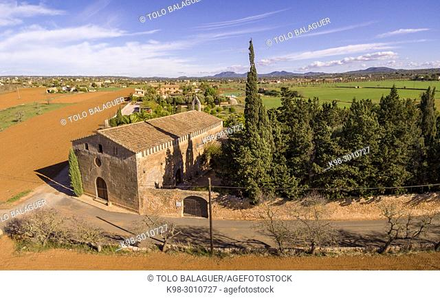 Oratori de Sant Blai, documentado en 1248, campos, Mallorca, balearic islands, Spain