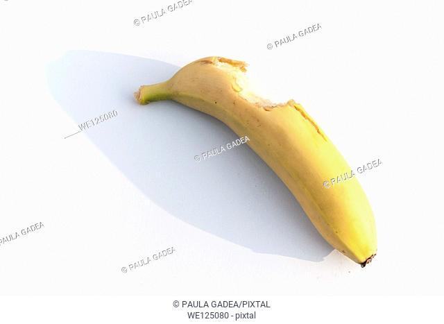 Banana, laziness concept