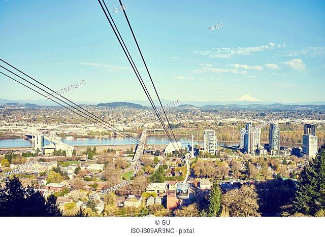 Cityscape, Portland, Oregon, USA