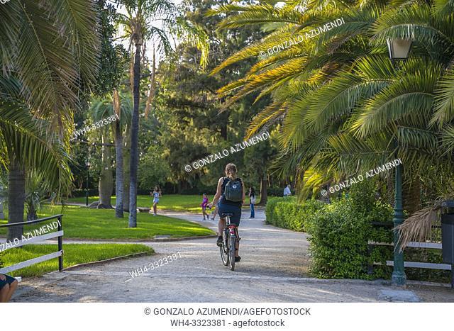 Jardines del Real Gardens. Blasco Ibañez . Valencia. Comunidad Valenciana. Spain