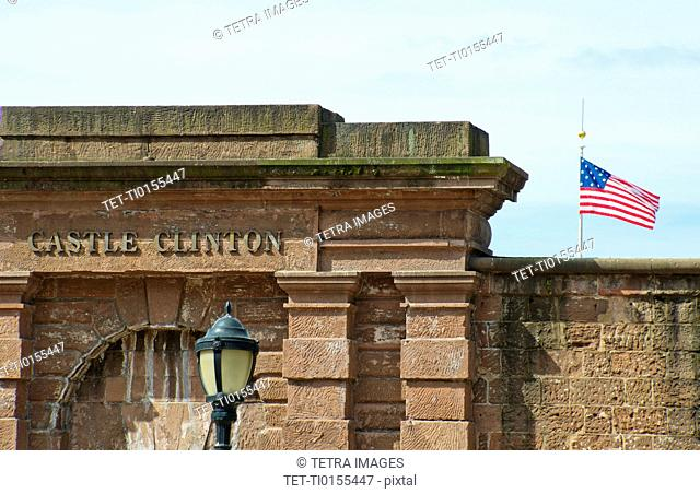 USA, New York City, Fort Clinton
