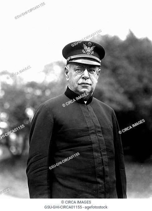 John Philip Sousa (1854-1932), Composer and Conductor, Portrait, circa 1922