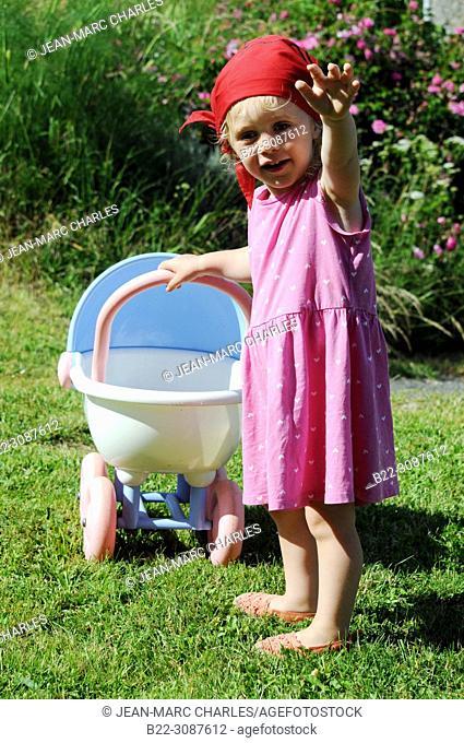 3 year-old girl