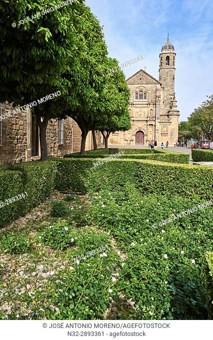 Church of the Salvador, Vazquez de Molina Square, Úbeda, UNESCO World Heritage Site, Jaén province, Andalusia. Spain