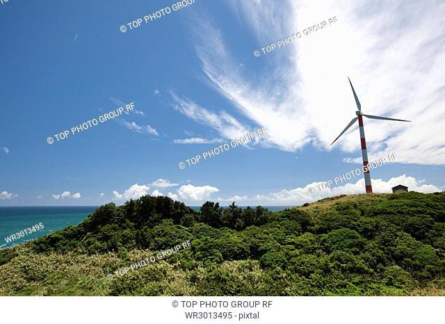 Shimen;wind power station
