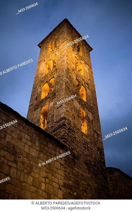 Santa Maria de Taull romanesque church. Taull, Vall de Boi, Lleida, Catalonia, Spain. Unesco World Heritage Site