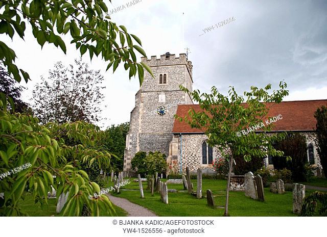 Holy Trinity Parish Church, Cookham, Berkshire, England, UK