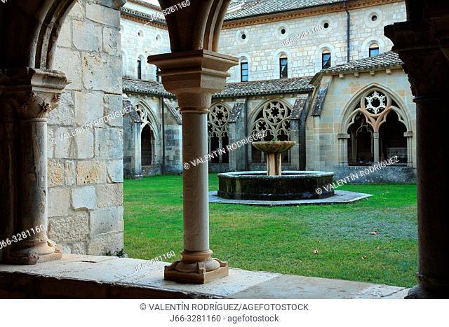 Cistercian monastery of Irantzu. Natural park Urbasa y Andía. Navarra
