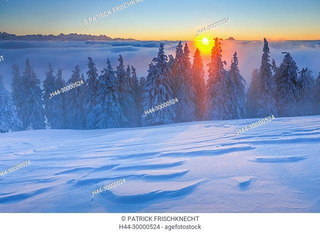 Berner Alpen und Pilatus, Schweiz