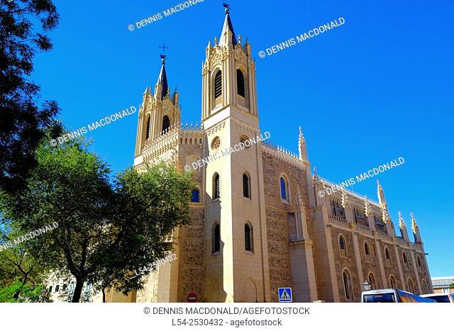 San Jerónimo el Real Catholic Church Madrid Spain ES