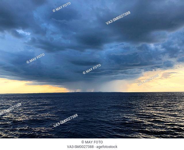 Boston bay, Boston, Massachusetts, United States