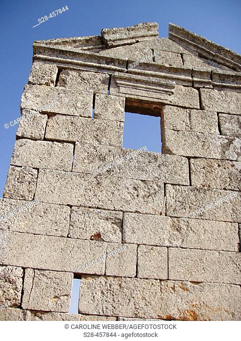 Roman Ruins near cities of Hama and Maharde, Syria