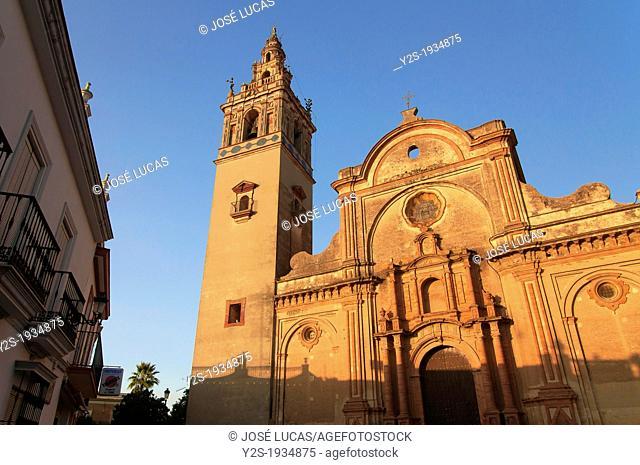 Church Santa Maria de la Granada -17th century, Moguer, Huelva-province, Region of Andalusia, Spain