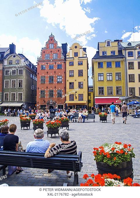 Stockholm, Stortorget, Great Square, Sweden, Gamla Stan