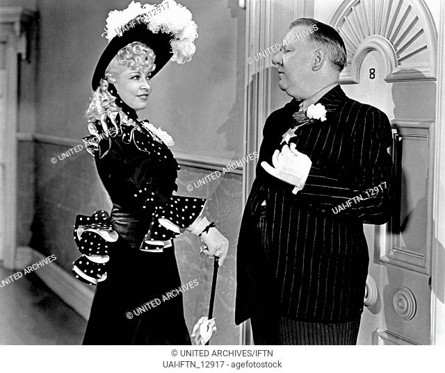 My little Chickadee, aka: Mein kleiner Gockel, USA 1940, Regie: Edward F. Cline, Darsteller: Mae West, W. C. Fields