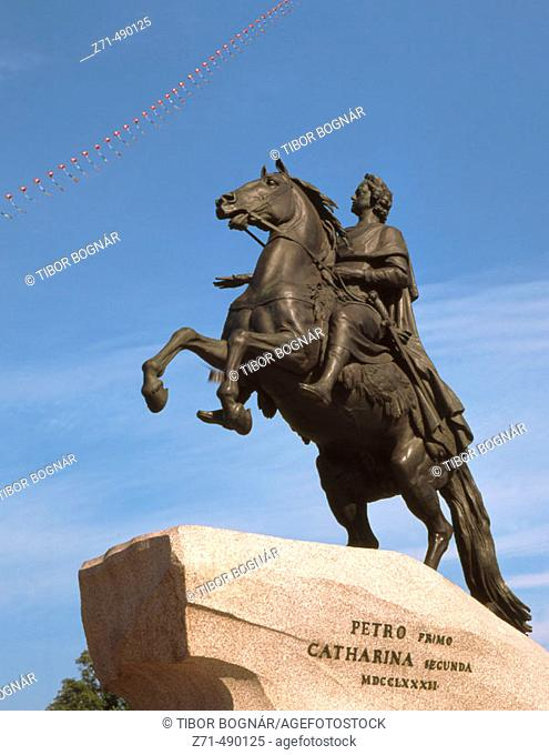 Peter I the Great, St. Petersburg. Russia