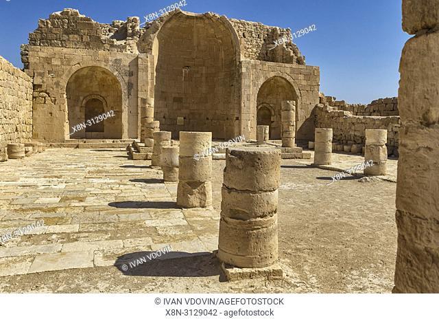Church ruins, Shivta, Roman dead city, Negev desert, Israel