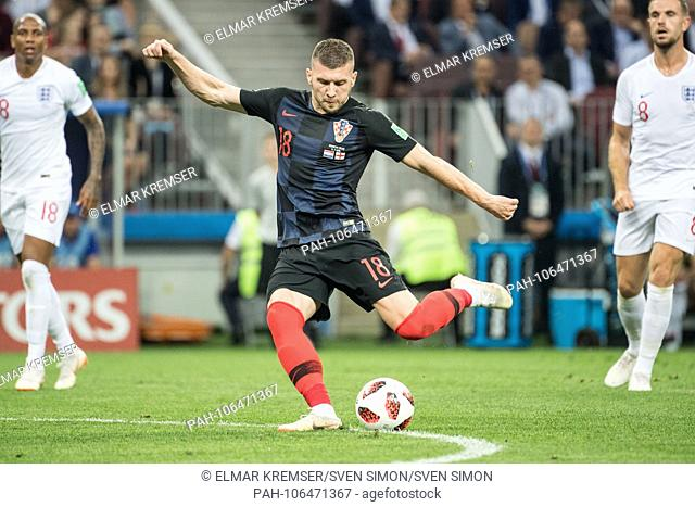 Ante REBIC (CRO) with Ball, Individual with ball, Action, Full figure, Croatia (CRO) - England (ENG) 2: 1, Semifinals, Game 62