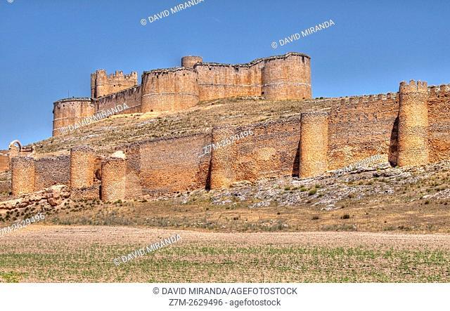 Castillo de Berlanga de Duero. Conjunto histórico artístico. Soria. Castilla León. España