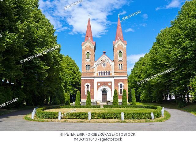 Martina baznica, Martins church, Kalnciema, Pardaugva, Riga, Latvia