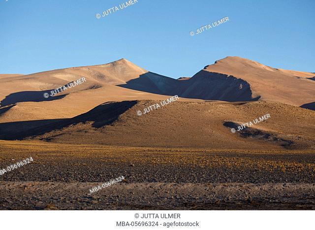 Chile, national park Nevado Tres Cruzes, Laguna Santa Rose
