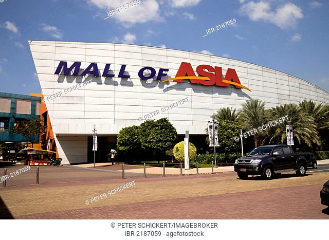 Mall of Asia shopping centre, Manila, Philippines, Asia