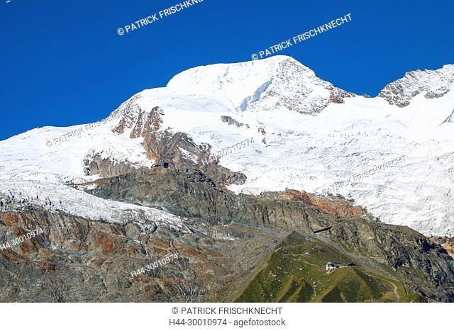 Alphubel - 4206m, Saas Fee, Wallis, Schweiz
