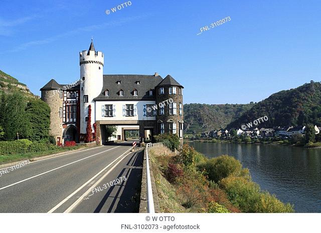 Gondorf Castle, Kobern, Rhineland-Palatinate, Germany