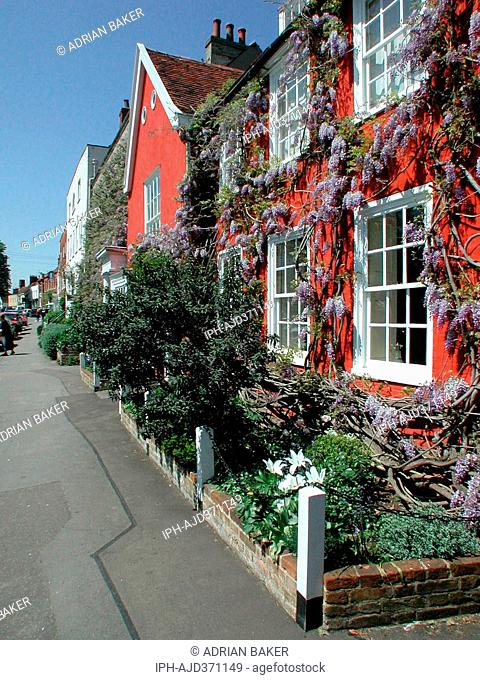 England Essex Constable Country Dedham Village scene