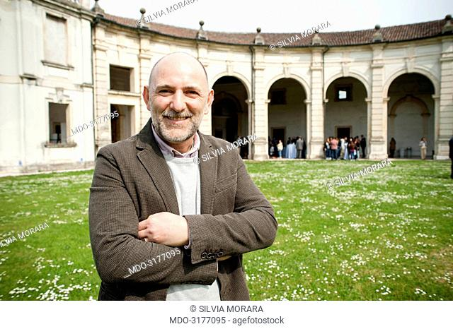 Marco Lotito (Wcap) attending the meeting Fare start up in Veneto si puù, for the event Panorama d'Italia. Vicenza, Italy. 16th April 2015